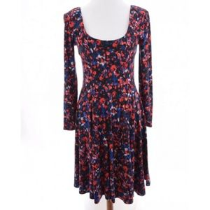 Anthropologie HD in Paris Floral Fit and FlareSz S